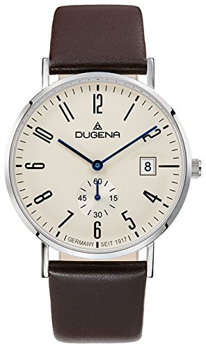 Dugena Men's Analogue Quartz Watch with Leather Strap 4460664