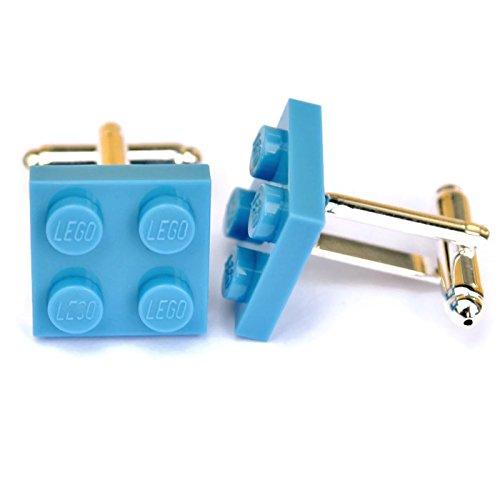 LEGO® plato Gemelos azul claro Boda