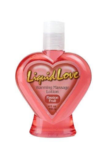 Pipedreams Liquid Love Wärmende Massage Lotion - Passions Frucht 118 ml (Aromatisierte Weibliche Kondome)