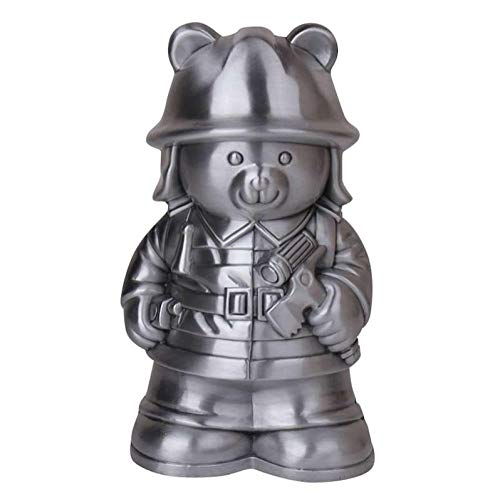 Luxdeoo Sparbüchsen Spardosen Für Kinder Tin Savings Box Sparschwein Münze Sparschwein Bär Dekoration -