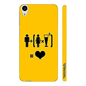 HTC Desire 626 LOVE WOMEN N ALCOHOL designer mobile hard shell case by Enthopia