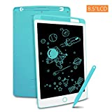 Richgv LCD Writing Tablet with Stylus, 8.5 Inch Digital Ewriter Electronic Graphic Drawing Tablet Erasable Portable Doodle Mini Board Memo Notepad for Kids Learning Birthday Gifts (Blue)