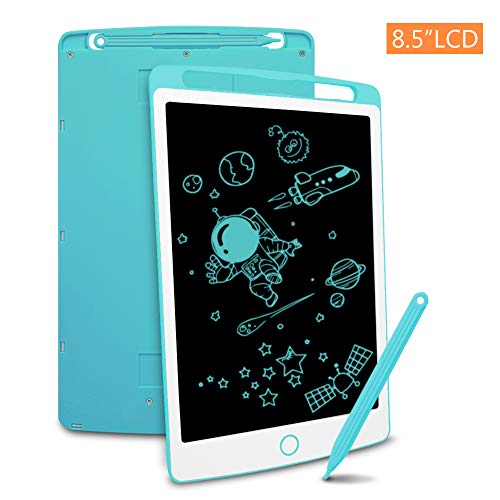 Richgv 8.5 Zoll LCD Writing Tablet Mini Schreibtafel Digital Ewriter Grafiktabletts Papierlos Notepad Doodle Board (Blau)