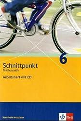 Schnittpunkt - Ausgabe für Nordrhein-Westfalen - Neubearbeitung. Mathematik für Realschulen / Arbeitsheft plus Lösungsheft mit CD-ROM 6. Schuljahr
