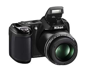 """Nikon CoolpixL330 Appareil photo numérique compact 20,2 Mpix Écran LCD 3"""" Zoom optique 26X Noir"""