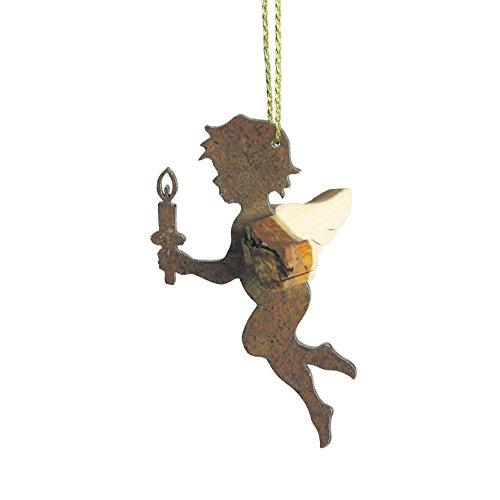 Rostikal darel d'ange avec bougie-ange-gardien