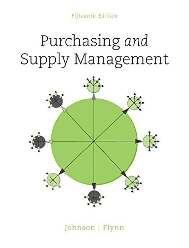 Purchasing and Supply Management (The Mcgraw-Hill Series in Operations and Decision Sciences) by P. Fraser Johnson (2014-10-02)