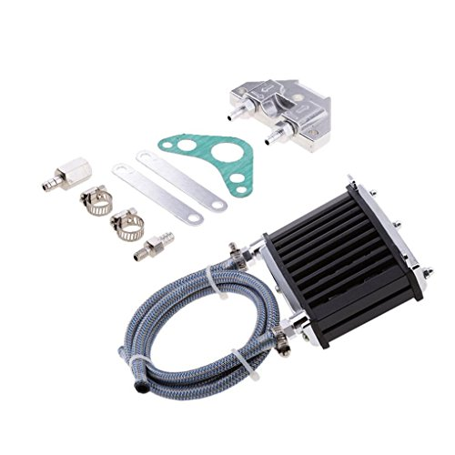 Lorsoul Motor Universal del refrigerador de Aceite de refrigeración del radiador de...