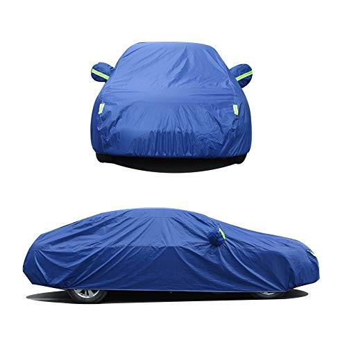 ASDFGHT Copertura Auto Protezione Panno di Oxford Telone Antigelo Impermeabile SUV Berlina, 3 Colori, 20 Taglie (Color : Blue, Size : 550X200X150CM)