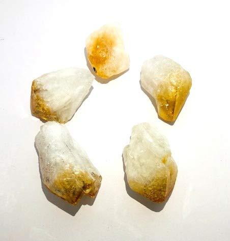 Crystalmiracle - pietra naturale di quarzo citrino per guarigione, reiki, feng shui, regalo per energia e benessere, pace, meditazione, vaastu, aura spirituale, saggezza, metafisica