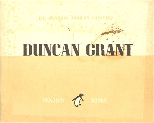 Duncan Grant,The Penguin Modern Painters series edited by Sir Kenneth Clark
