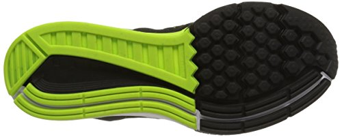 Nike Air Zoom Structure 18, Chaussures de Running Homme Noir (silber / Schwarz)