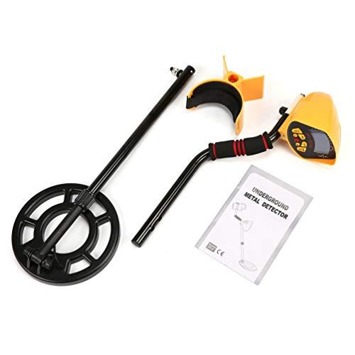 Alarm Handheld Radio (CHOULI MD3010II Unterirdischer Metalldetektor Handheld Treasure Hunter Goldfinder Schwarz & Orange)