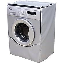 [Mr.You] funda para lavadora carga frontal impermeable a prueba de polvo (Delgado,Profundidad de 58~65cm)