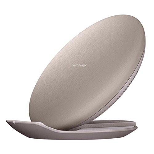 Xshuai 120mm * 110mm * 20mm Neue Qi Wireless Charger Ladestation Für Iphone 8/8 Plus / X Schnelle Aufladung Für Samsung Galaxy Note 8 / S8 / S8 Plus / S7 / S7 Rand und jede Qi standard (Beige)