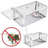 SLB Works Brand New One Door Animal Trap Steel Cage for Small Live