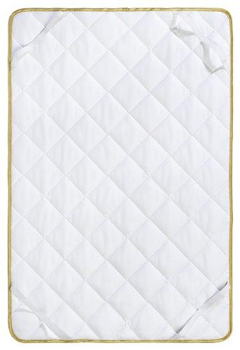 Frau Holle Baby-Matratzenauflage aus 100% Baumwolle, 60 x 120 cm, 120 g - 0335-44