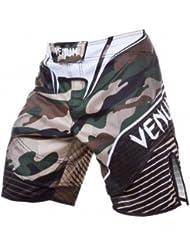 Venum MMA Camuflaje Hero Shorts De Artes Marciales - Verde/Marrón - NUEVO - X-Large