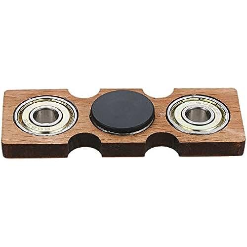 fidget spinner el nuevo juguete de moda Anself Fidget Spinner de Madera, Spinner Toy para Prácticas de Sensores Atenciones Destrezas de Dedos, Juego para Niños Jóvenes Adultos