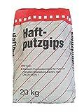 Haftputzgips 20 kg - Gipsleicht-Putzmörtel für Putze zur manuellen Verarbeitung