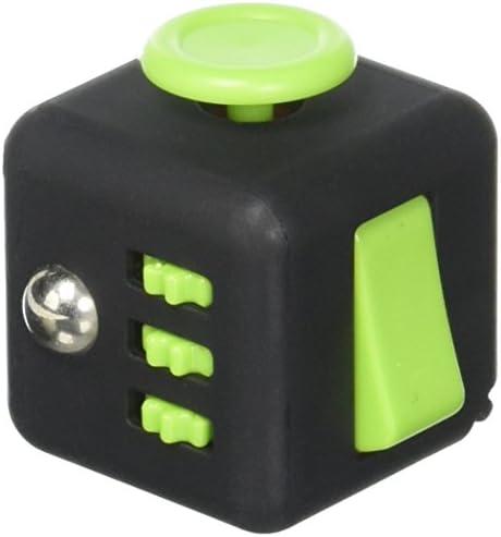 My Hug Toys & Cube Clicker Jouet – Silicone et et et ABS – réduire Le Stress, l'anxiété et Aider à Focus – pour  s et Adultes – Couleur: Noir et Vert... | De Nouveau Modèle  377e13