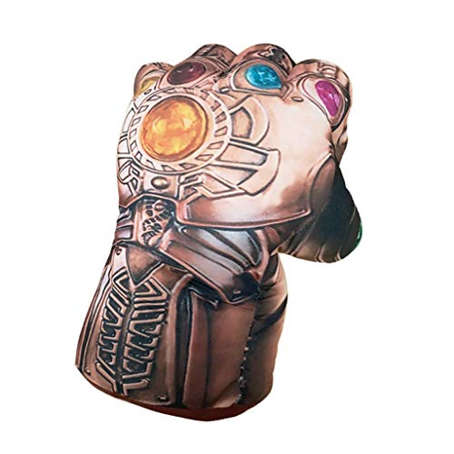 Avengers 3 Tyrants Unlimited PP Baumwolle gefüllte Handschuhe Plüschtiere staunen um kreative Handschuhe COS Requisiten 20 * 25 cm (Farbe : A-Infinite gloves (left ()