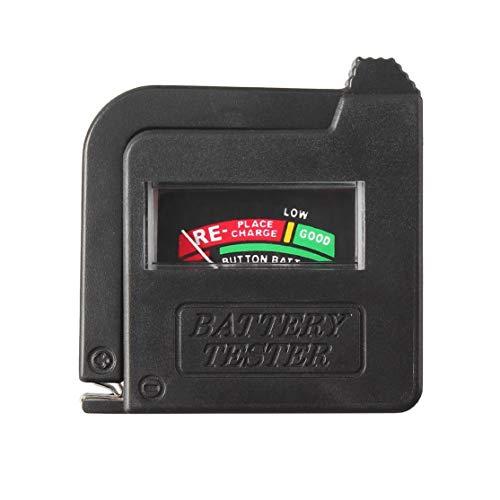 LouiseEvel215 BT-168 Universal Batterietester für 9V 1,5V und Knopfzelle AAA AA CD Universal Knopfzelle Volt Tester Checker Indicator