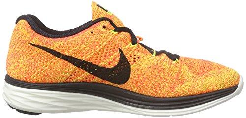 NikeFlyknit Lunar3 - Scarpe Running Donna Arancione (Orange (Hochspannung/Schwarz Helles Karmesinrot/Helles Mango 700))