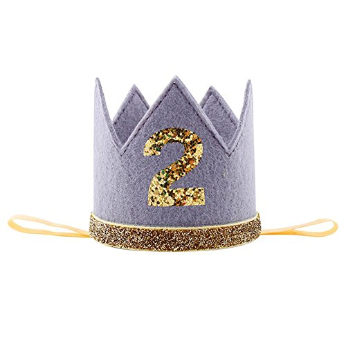 Geburtstagsfeierkrone Sparkly Mit Prinz Prinzessin König Partykrone Hut Kuchen Smash Foto Prop Für 1. Geburtstag 2 Nd Geburtstag 3 Rd Geburtstag Für Geburtstagsfeier Baby Shower Foto Requisiten