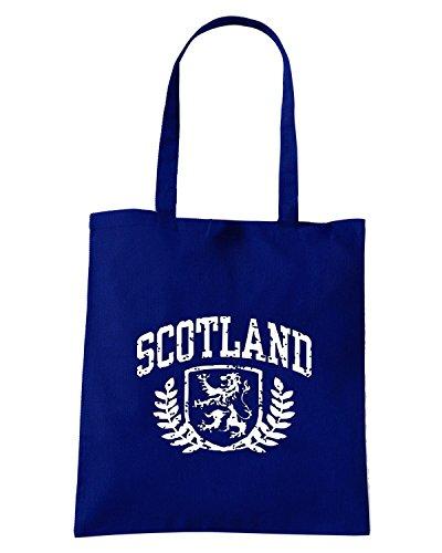 T-Shirtshock - Borsa Shopping TSTEM0121 scotland Blu Navy