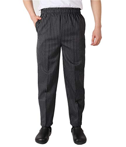 Sawanica Pantaloni da Chef Pantaloni da Lavoro Houndstooth
