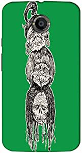 Timpax protective Armor Hard Bumper Back Case Cover. Multicolor printed on 3 Dimensional case with latest & finest graphic design art. Compatible with Motorola Moto -X-2 (2nd Gen )Design No : TDZ-27485