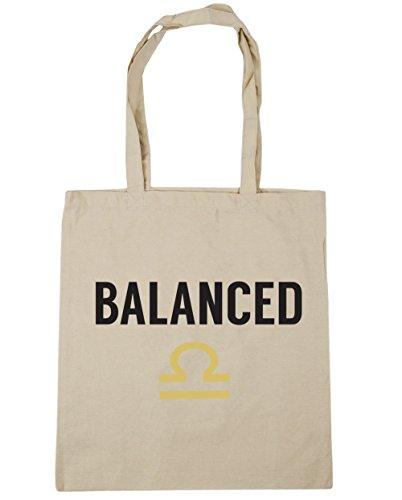 wogene Waage Tote Shopping Gym Beach Bag 42cm 3838, 10Liter, natur, Einheitsgröße (Zauber-gypsy)