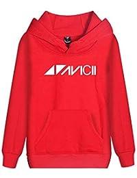8b25e7f61d276 Haililais DJ Avicii Sudaderas con Capucha Ocasionales Sueter Deportivo  Jerseys De Parejas Sencillos Sweatshirts para Mujeres