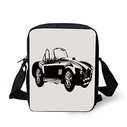 Cars,Silhouette Classic Sport Car Ac Cobra Roadster American...