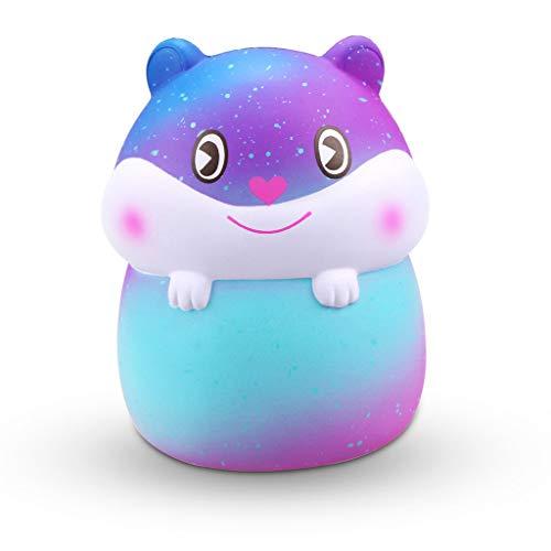 Mitlfuny Kawaii Langsam Dekompression Creme Duftenden Groß Squishy Spielzeug Squeeze Spielzeug,Mini Entzückender Hamster Super Langsam Steigender Kinder Spaß Spielzeug Stressabbau Spielzeug ()