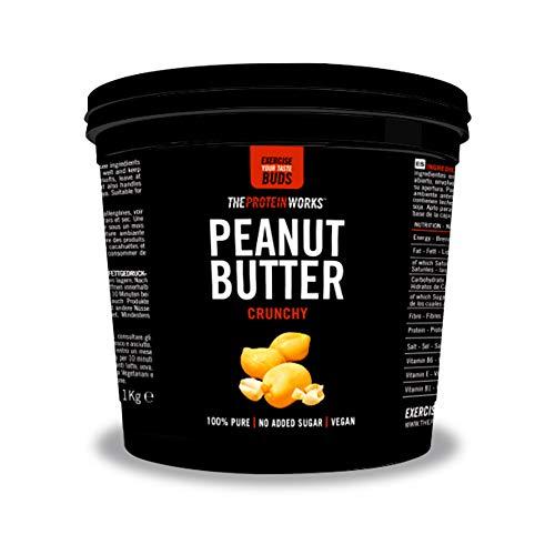 The protein workstm burro di arachidi, super crunchy, 1kg