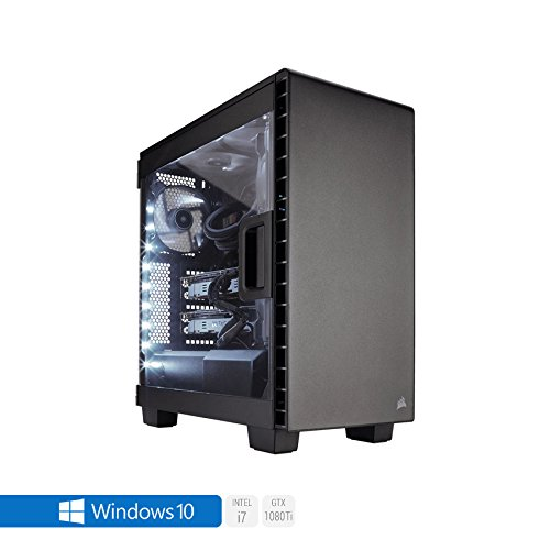 Sedatech Ultimate Gaming PC Intel i7-8700K 6x 3.70GHz (max 4.7Ghz), Geforce GTX1080Ti 11Gb, 64GB RAM DDR4 3000Mhz, 1TB SSD, 3TB HDD, USB 3.1, HDMI2.0, 4K Grafik Aulösung, DirectX 12, VR Ready, 80+ Netzteil. Rechner mit Windows 10 64 Bit Nvidia Geforce 7800 Gtx
