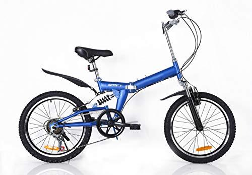 Kinderfahrrad,20 Zoll Jungen Und Mädchen Faltrad