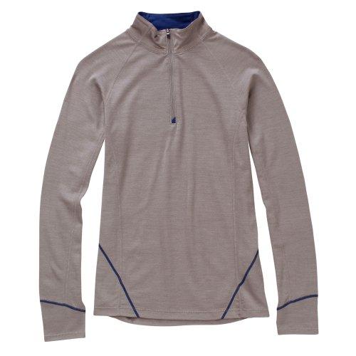 Ibex Outdoor Bekleidung Damen Indie Sport Pullover Kiesfarben