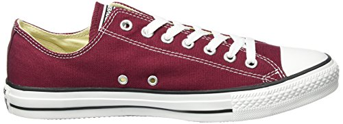 Converse Ctas Core Ox, Baskets mode mixte adulte Rouge (Maroon)