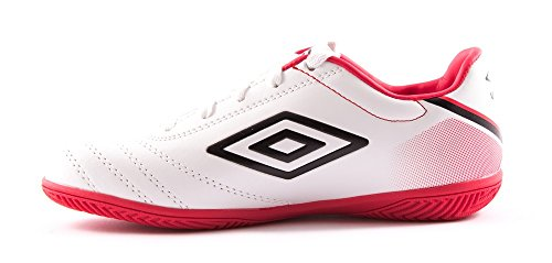 Umbro Classico V Jnr Stiefel IC Weiß/Rot/Schwarz