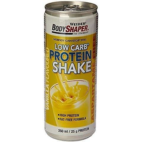 Body Shaper Low Carb Protein Shake Vanilla - 250Ml X 1