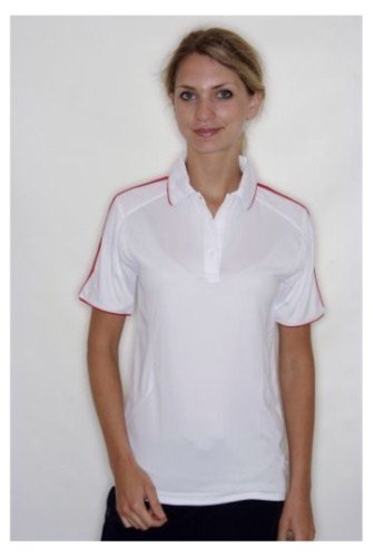 Gamegear - Polo - Femme Blanc - White Red