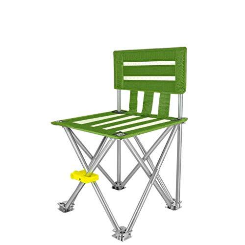 SMQ Tragbare ultraleichte Klappstuhl Angeln Stuhl im Freien Strand Stuhl Eisen Fuß Angeln Hocker Klappstuhl im Freien