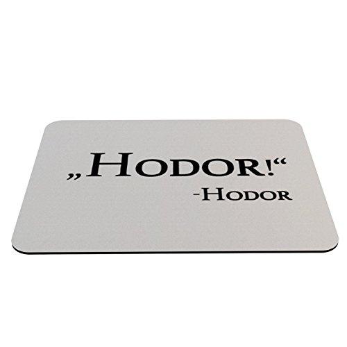 Preisvergleich Produktbild Stylotex Mauspad ,,Hodor'! Hodor - mit textiler Oberfläche