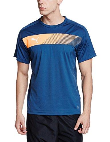 PUMA Herren T-Shirt IT Evotrg Powercool Graphic Tee, Blue Wing Teal-Orange Pop, M, 654751  Preisvergleich