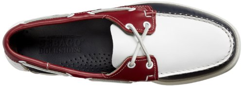 Sebago Spinnaker, A Bout Rond Homme Bleu (Navy/White/Red)