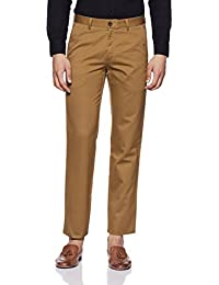 Louis Philippe Men's Straight Fit Formal Trousers - B078T2GYB8