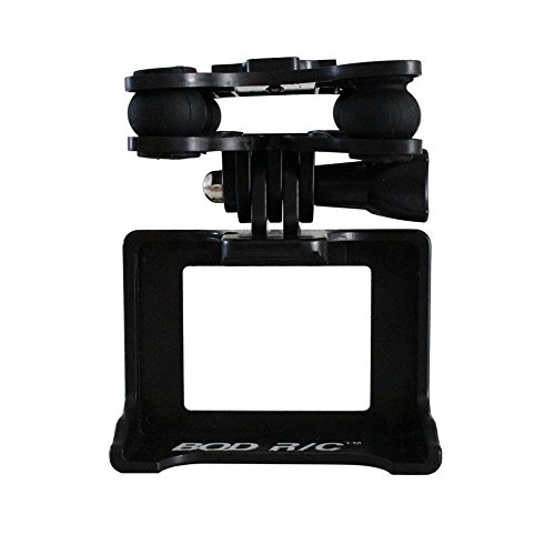 BTG Camera Holder Anti-shocker Gimbal Mount Adapter for Syma X8C X8G X8W X8HC X8HW X8HG RC Quadcopter - Compatible with GoPro 3 3+ 4 Camera, Xiaomi Yi Liveliness Camera, SJCAMS SJ4000 SJ7000 Enmity Camera